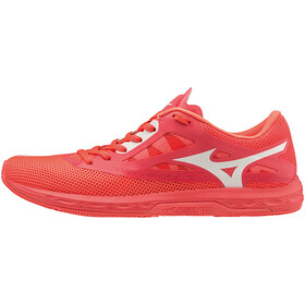 Mizuno Wave Sonic 2 Running Shoes Men, fiery coral/white/black